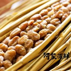 小粒納豆四付綠納豆4小盒/封(鰹魚風味 綠) (50.5g/盒)