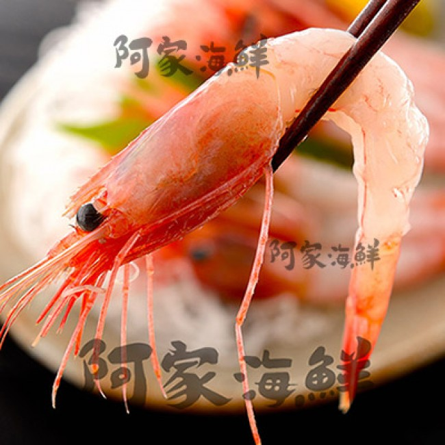 北海道甜蝦《3L刺身級》1kg±10%/盒