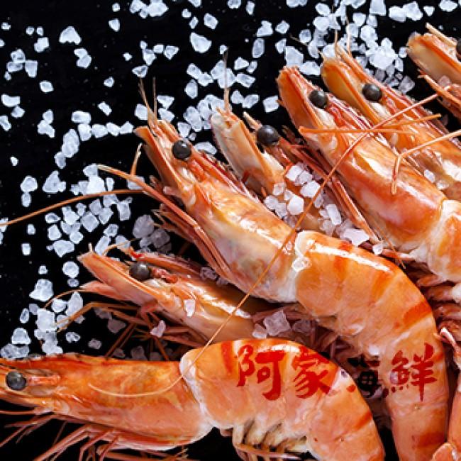 活凍草蝦 5尾 360g±10%/盒