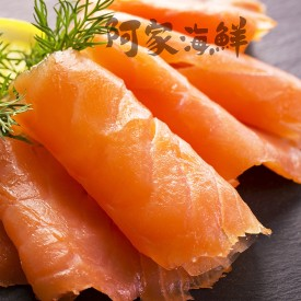 冷燻鮭魚片/包