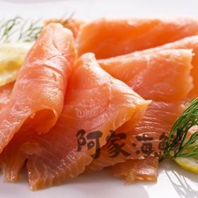 冷燻鮭魚片/煙燻鮭魚 1000g±5%包