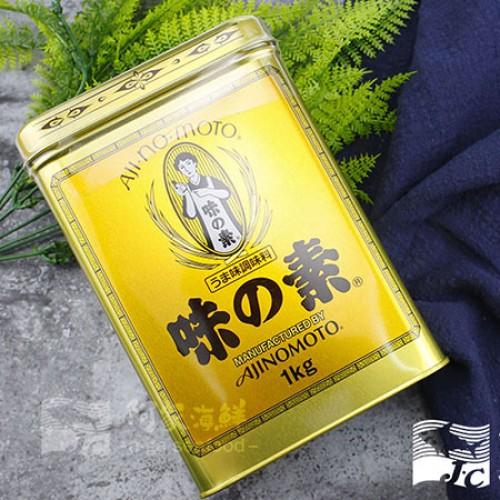 【日本AJIMOMOTO味之素】經典金罐(1kg) 日本百年品牌 不含防腐劑 不加人工色素 快速出貨