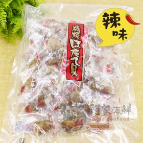 日本原裝進口 磯燒帆立貝/干貝糖(辣味) 500g±10%/包
